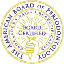 The american board of periodontology seal
