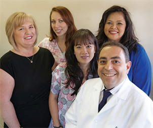 Meet Dr. Javadi and his team